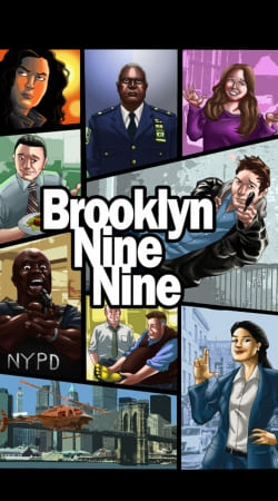 funda Brooklyn Nine nine Gta Mashup