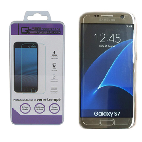 Samsung Galaxy s7 Screen Protector - Premium Tempered Glass
