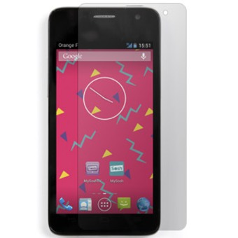 Protector de pantalla Alcatel One Touch Idol Mini - 2 en 1