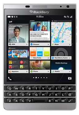 BlackBerry Passport Silver Edition