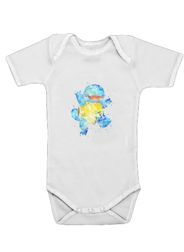 Onesies Baby Carapuce Watercolor