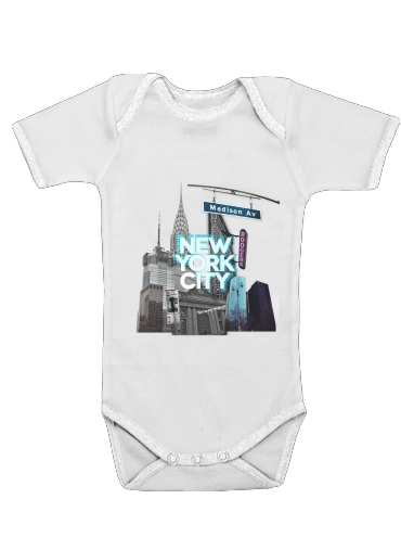 Onesies Baby New York City II [blue]