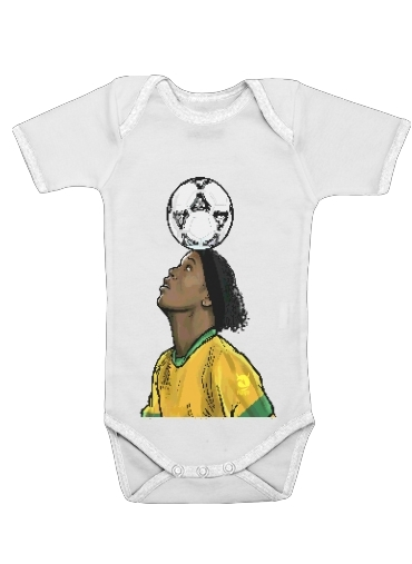 Onesies Baby The Magic Carioca Brazil Pixel Art