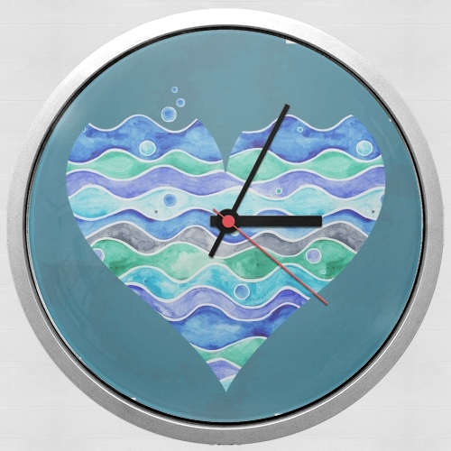 A Sea of Love (blue) para Reloj de pared