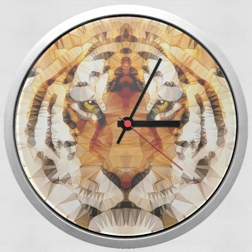 abstract tiger para Reloj de pared