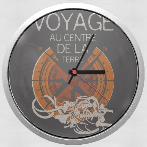 Book Collection: Jules Verne para Reloj de pared