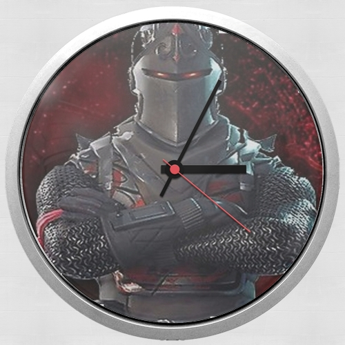 Caballero Negro Fortnite para Reloj de pared