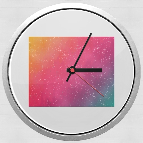 Colorful Galaxy para Reloj de pared