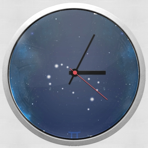 Constellations of the Zodiac: Gemini para Reloj de pared