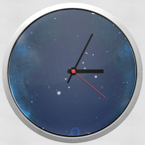 Constellations of the Zodiac: Leo para Reloj de pared