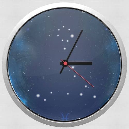 Constellations of the Zodiac: Pisces para Reloj de pared