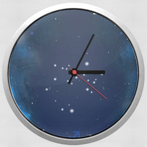 Constellations of the Zodiac: Sagittarius para Reloj de pared