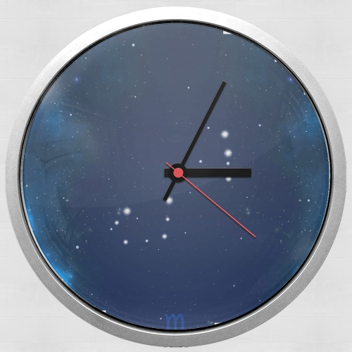 Constellations of the Zodiac: Scorpio para Reloj de pared