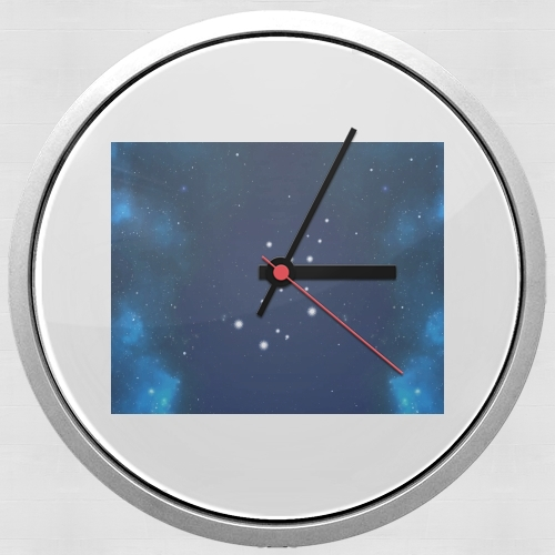Constellations of the Zodiac: Virgo para Reloj de pared