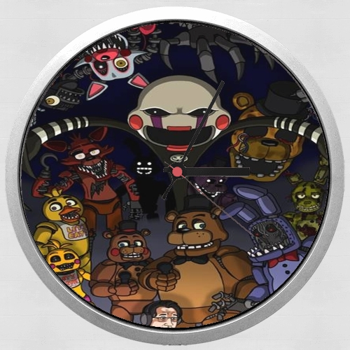 Five nights at freddys para Reloj de pared
