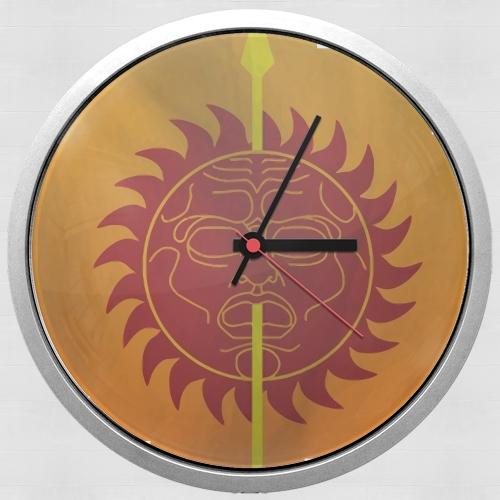 Flag House Martell para Reloj de pared