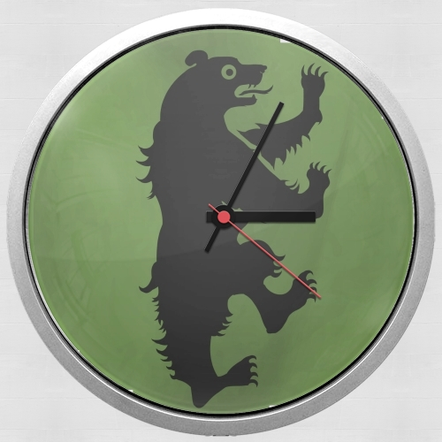Flag House Mormont para Reloj de pared