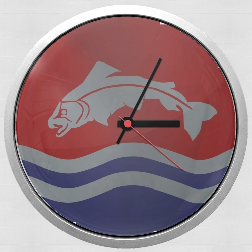 Flag House Tully para Reloj de pared