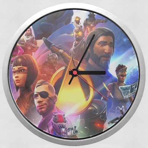 Fortnite Skin Omega Infinity War para Reloj de pared