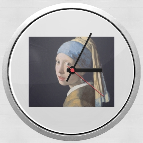 Girl with a Pearl Earring para Reloj de pared