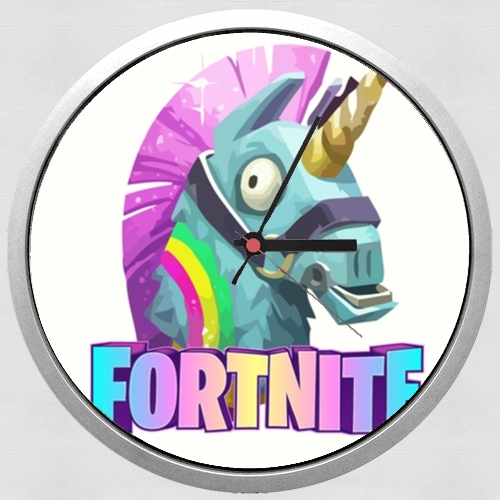 Videojuegos de Unicorn Fortnite para Reloj de pared