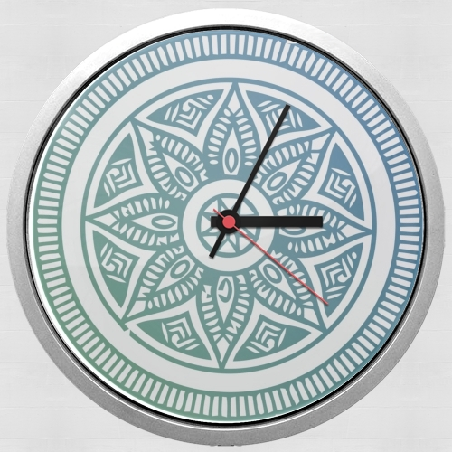 Mandala Peaceful para Reloj de pared