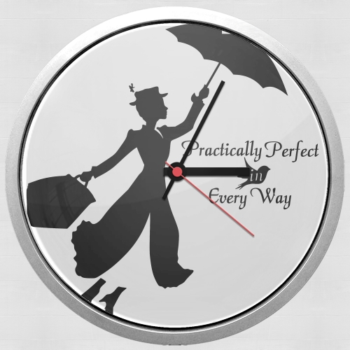 Mary Poppins Perfect in every way para Reloj de pared