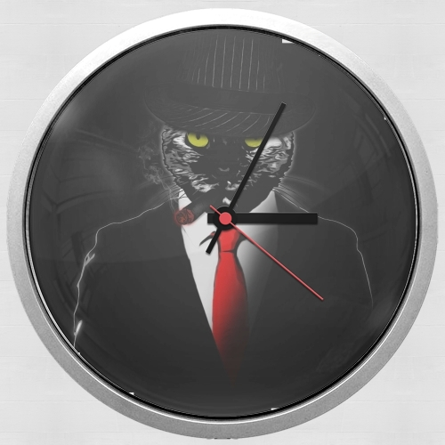 Mobster Cat para Reloj de pared
