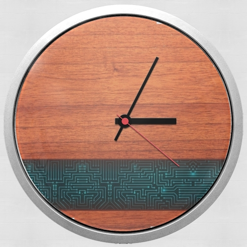 Natural Wooden Wood Bamboo para Reloj de pared