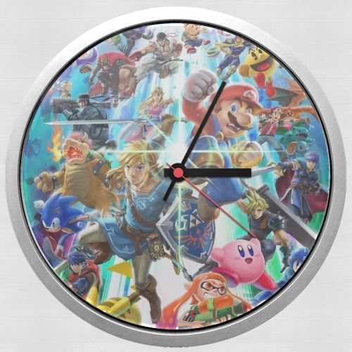 Super Smash Bros Ultimate para Reloj de pared