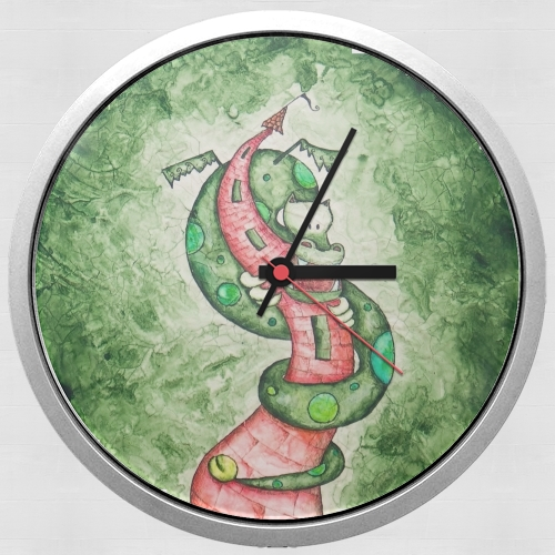 The Dragon and The Tower para Reloj de pared