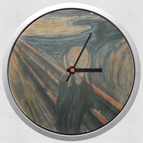 The Scream para Reloj de pared