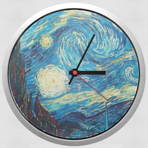 The Starry Night para Reloj de pared