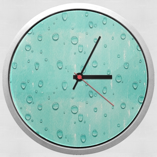 Water Drops Pattern para Reloj de pared