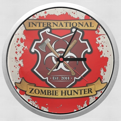 Zombie Hunter para Reloj de pared
