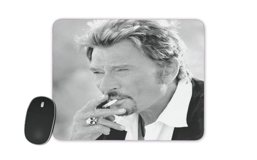 johnny hallyday Smoke Cigare Hommage para alfombrillas raton