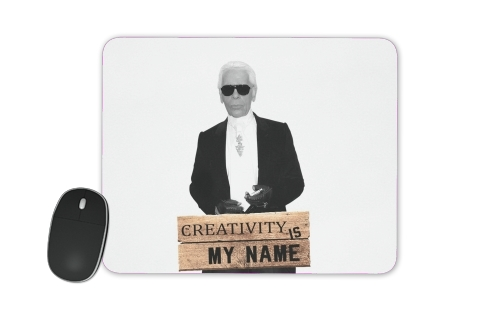 Karl Lagerfeld Creativity is my name para alfombrillas raton