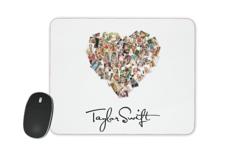 Taylor Swift Love Fan Collage signature para alfombrillas raton