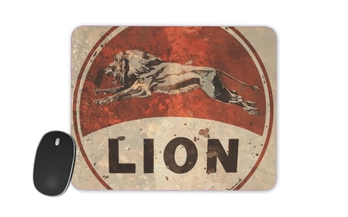 Vintage Gas Station Lion para alfombrillas raton
