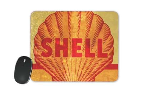 Vintage Gas Station Shell para alfombrillas raton