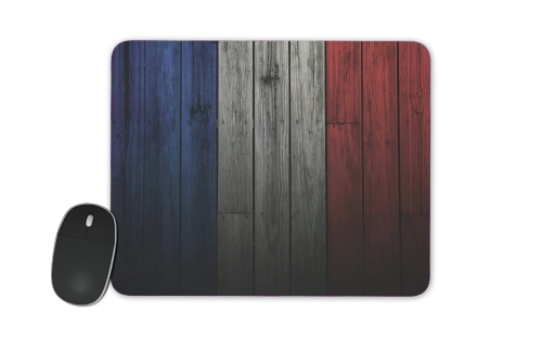 Wooden French Flag para alfombrillas raton