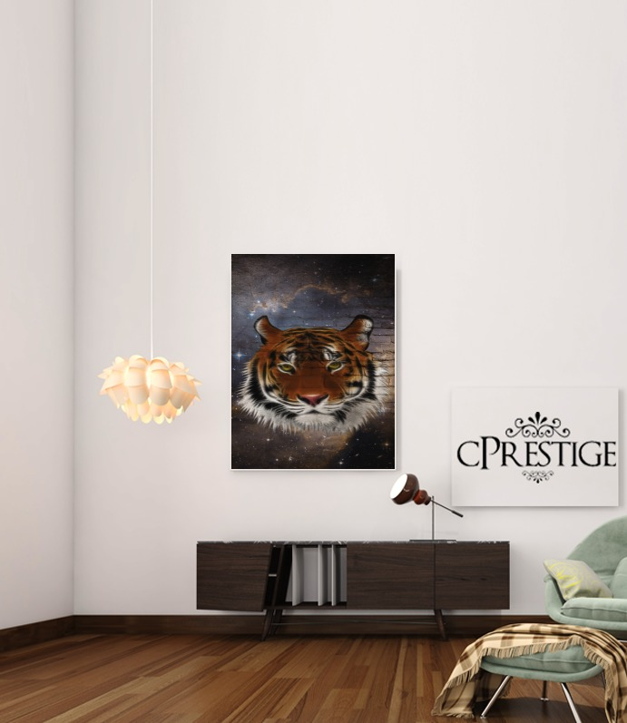 Abstract Tiger para Poster adhesivas 30 * 40 cm