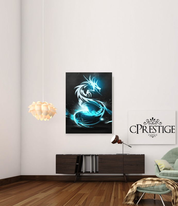 Dragon Electric para Poster adhesivas 30 * 40 cm