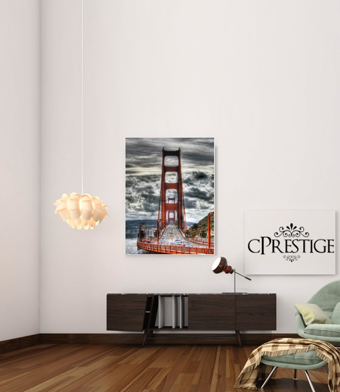 Golden Gate San Francisco para Poster adhesivas 30 * 40 cm