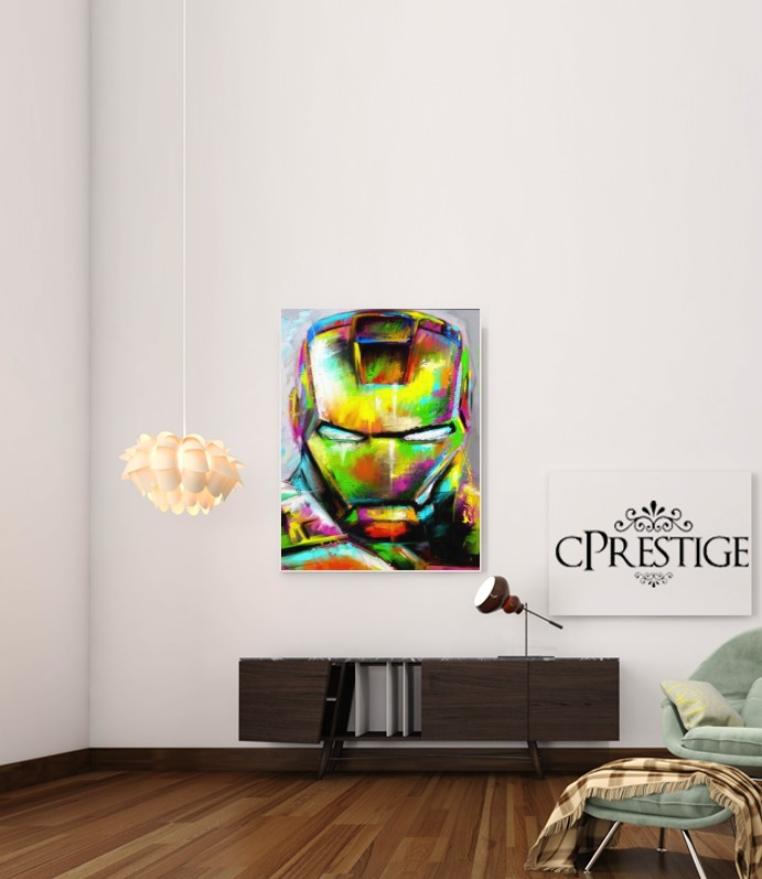 I am The Iron Man para Poster adhesivas 30 * 40 cm