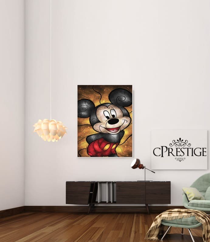 Mouse of the House para Poster adhesivas 30 * 40 cm