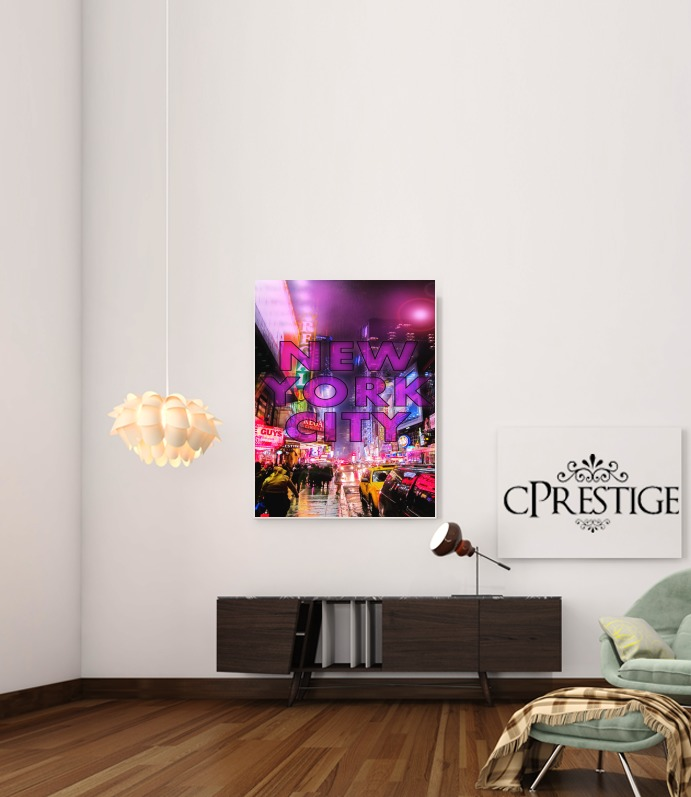 New York City - Broadway Color para Poster adhesivas 30 * 40 cm