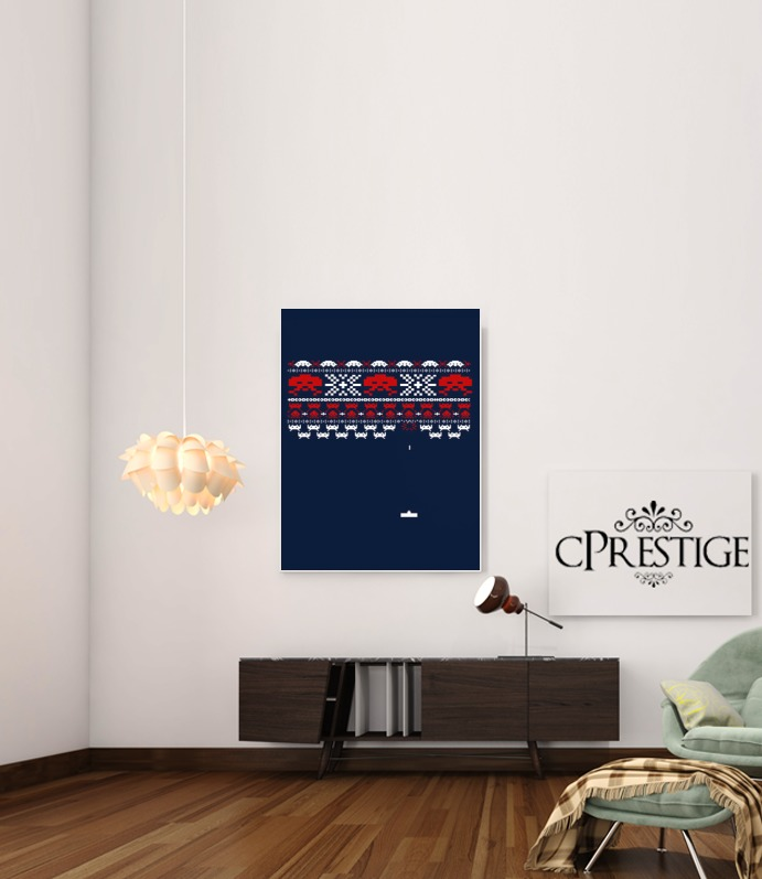 Space Invaders para Poster adhesivas 30 * 40 cm