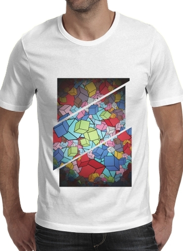 Abstract Cool Cubes para Camisetas hombre