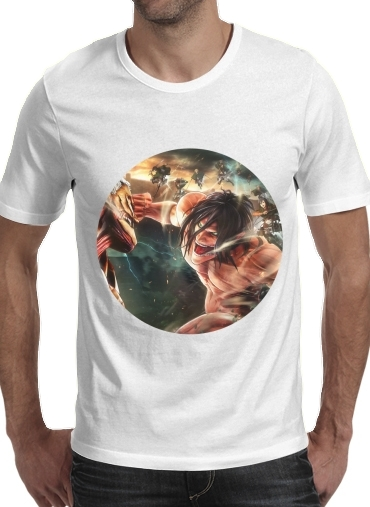 Attack on titan - Shingeki no Kyojin para Camisetas hombre